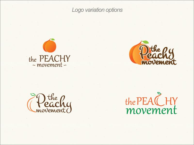 Peacy Logo Versions