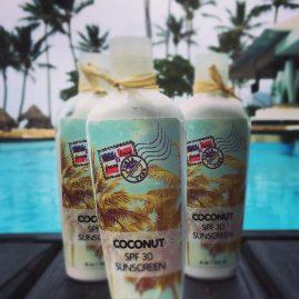 Sunscreen Lotion Label