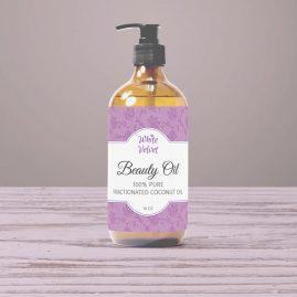 Beauty Oil Label